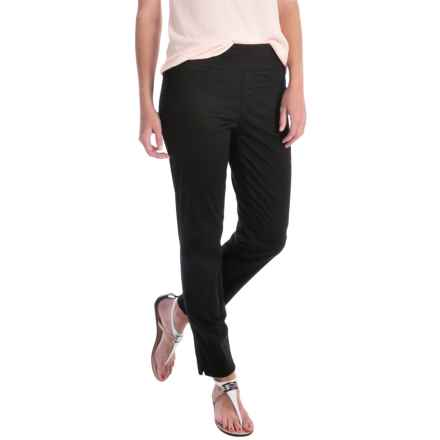 Miraclebody by Miraclesuit Andie Stretch Ankle Pants (For Women) in Black - Overstock