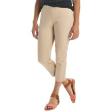 Miraclebody by Miraclesuit Crop Leggings - Stretch Cotton (For Women) in Cashew - Overstock