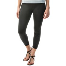 Miraclebody by Miraclesuit Lilia Cropped Leggings (For Women) in Black - Closeouts