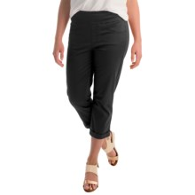 Miraclebody by Miraclesuit Randi Stretch Crop Pants (For Women) in Black - Overstock