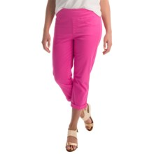 Miraclebody by Miraclesuit Randi Stretch Crop Pants (For Women) in Fuchsia - Overstock
