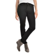 Miraclebody by Miraclesuit Sandra D Skinny Ankle Jeans - Comfort Stretch (For Women) in Jet - Overstock