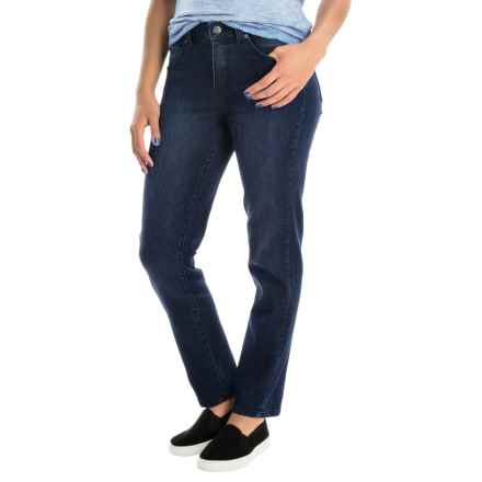 Miraclebody by Miraclesuit Sandra D Skinny Ankle Jeans (For Women) in Oakridge Blue - Overstock