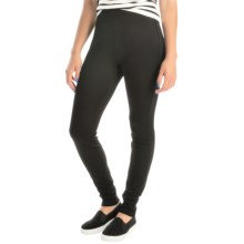 Miraclebody by Miraclesuit Stretch Ponte Leggings (For Women) in Jet - Overstock