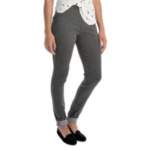 Miraclebody by Miraclesuit Thelma Stretch-Denim Leggings - Mid Rise (For Women) in Greystone - Overstock