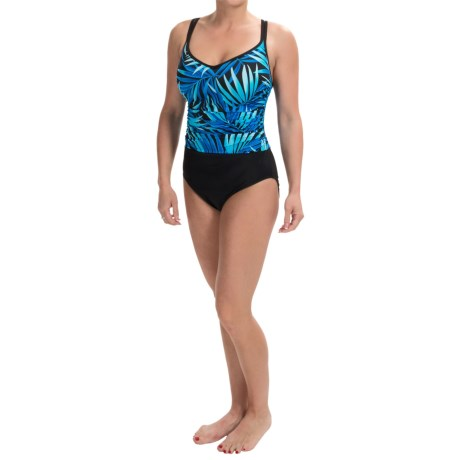 Miraclesuit Jungle Palm Bethany Swimsuit Double Strap (For Women)