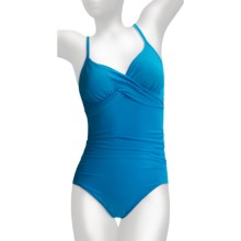 Miraclesuit Kerri Swimsuit - 1-Piece (For Plus Size Women) in Turquoise - Closeouts