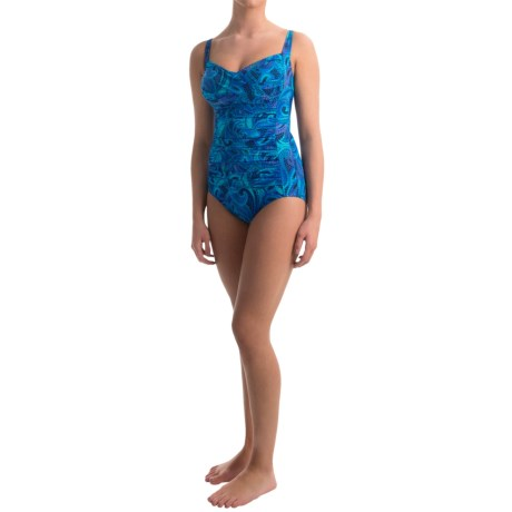 Miraclesuit Modern Averi Mosaic One Piece Swimsuit (For Women)