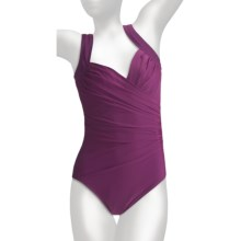 Miraclesuit Must Have Sanibel Swimsuit - 1-Piece (For Women) in Plum - Closeouts