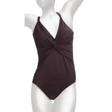 Miraclesuit Must Haves Pandora Swimsuit (For Women) in Chocolate - Closeouts