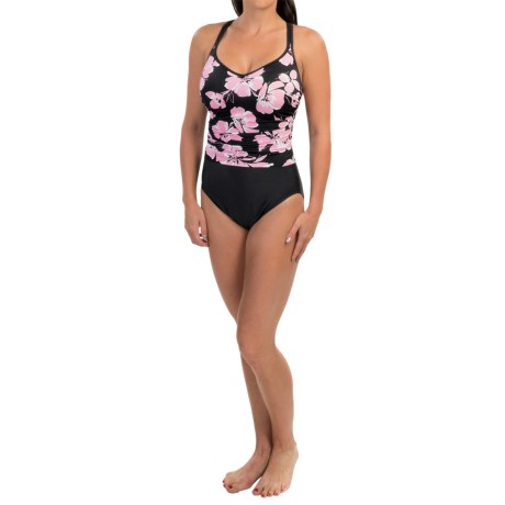 Women's Miraclesuit Poppies Bethany Swimsuit - Double Strap