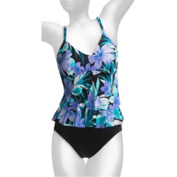 Miraclesuit Rylee Tankini Swimsuit - 2-Piece (For Women) in Periwinkle Forever In Bloom