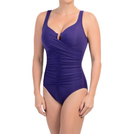 Miraclesuit Sangria One Piece Swimsuit (For Women)