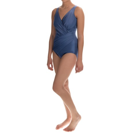 Miraclesuit Solid Oceanus One Piece Swimsuit Underwire (For Women)
