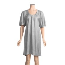 Miraclesuit Solid Swimsuit Cover-Up - Short Sleeve (For Women) in Grey Mettalic - Closeouts