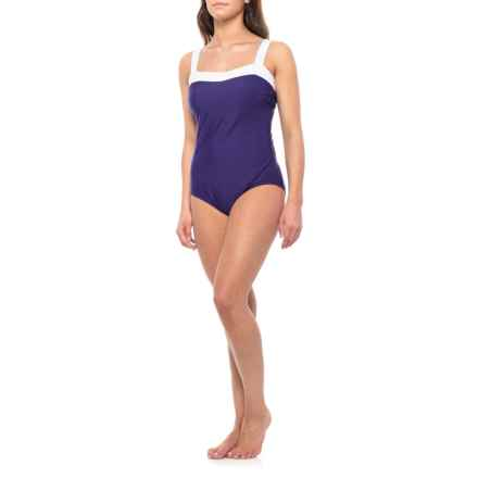 Miraclesuit Square Neck One-Piece Swimsuit (For Women) in Egg - Closeouts
