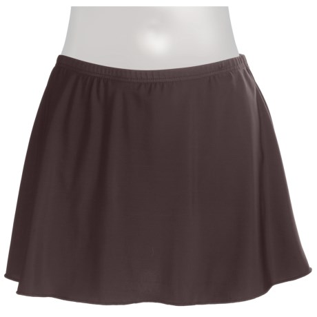 Miraclesuit Swim Skirt Bottoms (For Women) in Chocolate