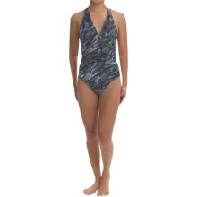 Miraclesuit Wild Cat Sonatina Swimsuit (For Women) in Slate - Closeouts