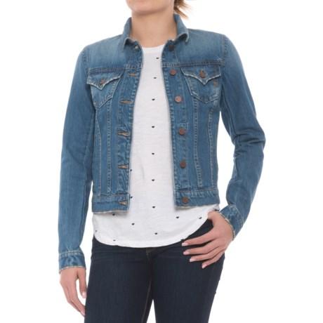Miss Me Denim Jacket (For Women) in Medium Wash