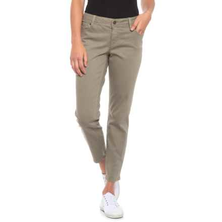 Miss Me Easy Ankle Skinny Jeans - Mid Rise (For Women) in Sage - Closeouts