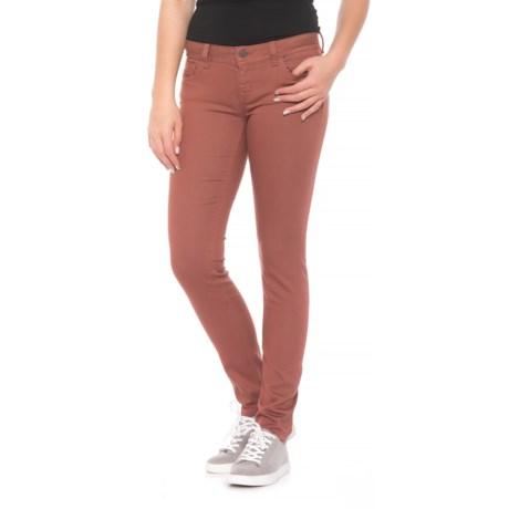 Miss Me Skinny Denim Jeans (For Women) in Dusty Rose