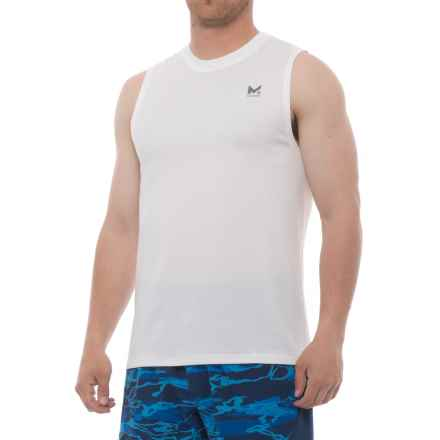 Mission Alpha Shirt - Sleeveless (For Men) in Bright White - Closeouts