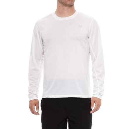 Mission Alpha T-Shirt - Long Sleeve (For Men) in Bright White - Closeouts