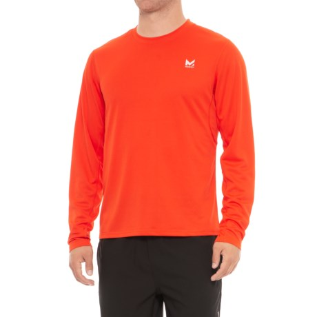 Mission Alpha T-Shirt - Long Sleeve (For Men) in Cherry Tomato