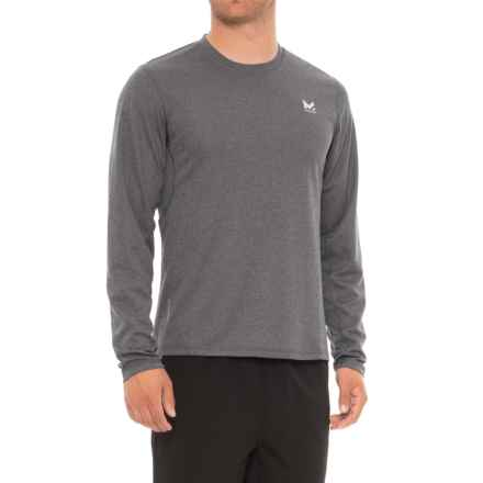 Mission Alpha T-Shirt - Long Sleeve (For Men) in Heather Grey - Closeouts