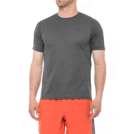 Mission Alpha T-Shirt - Short Sleeve (For Men) in Heather Grey - Closeouts