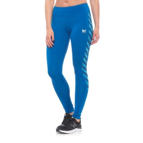 Mission Altitude Full-Length Leggings (For Women) in Lapis Blue/ Rush Lapis Blue