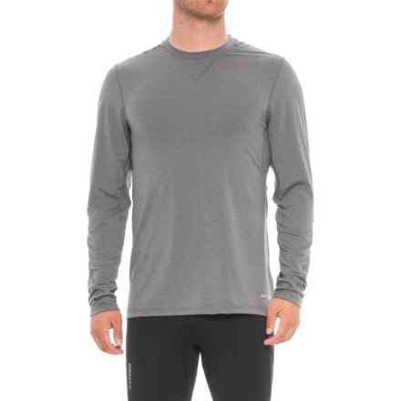 Mission Amplified Base Layer Top - Long Sleeve (For Men) in Quiet Shade - Closeouts