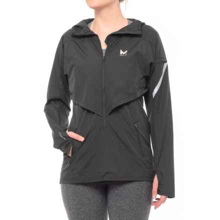 Mission Barometer Jacket - Zip Neck, Hooded (For Women) in Moonless Night - Closeouts