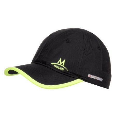 Mission EnduraCool® Instant Cooling Hat - UPF 50 (For Men and Women) in Black