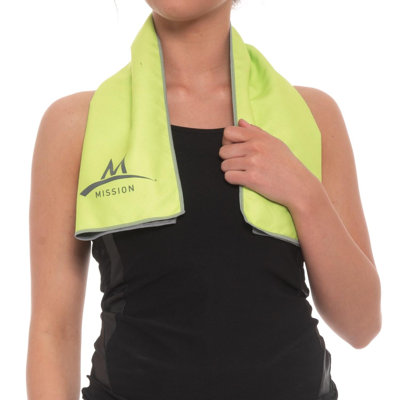 dc20c05bc2dc Mission EnduraCool® Microfiber Towel - UPF 50+ - Save 40%