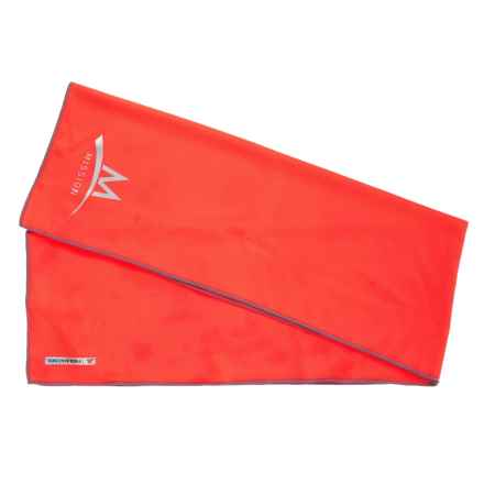 Mission Enduracool Towel - Large, UPF 50 in High Vis Coral - Overstock