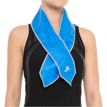 Mission EnduraCool®Scarf and Wrap Set - UPF 50+, 3-Piece Set (For Women) in Blue - Closeouts