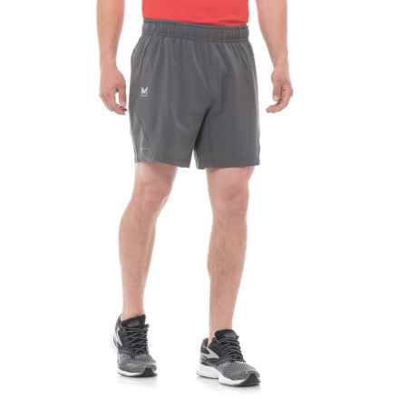 """Mission Fusion Training Shorts - 7"""" (For Men) in Iron Gate/ Lapis Blue - Closeouts"""