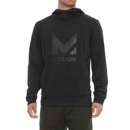 Mission Gravity Pullover Hoodie (For Men) in Moonless Night - Closeouts