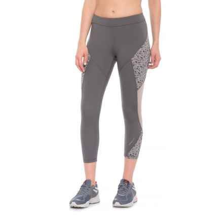 Mission Radiate Crop Leggings (For Women) in Iron Gate Paloma Ice - Closeouts