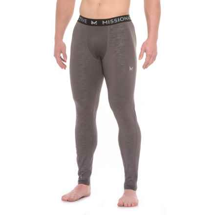Mission VaporActive Compression Base Layer Tights (For Men) in Carbon - Closeouts
