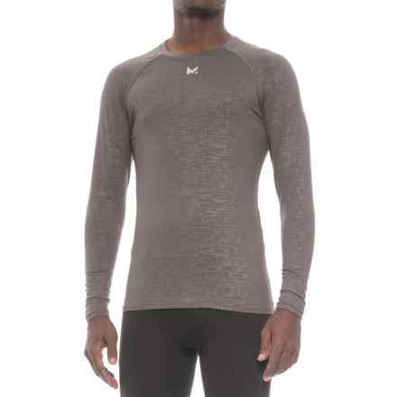 Mission VaporActive Compression Base Layer Top - Long Sleeve (For Men) in Carbon - Closeouts