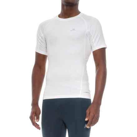 Mission VaporActive High-Performance Base Layer Top - Short Sleeve (For Men) in White - Closeouts