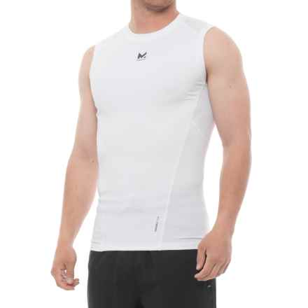 Mission Voltage Compression Shirt - Sleeveless (For Men) in Bright White - Closeouts
