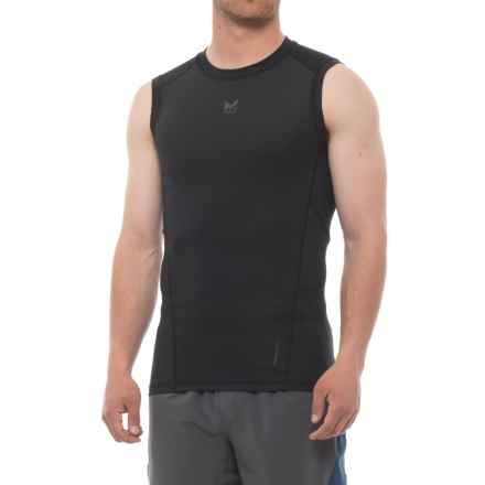 Mission Voltage Compression Shirt - Sleeveless (For Men) in Moonless Night - Closeouts