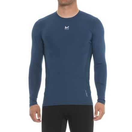 Mission Voltage Compression T-Shirt - Long Sleeve (For Men) in Estate Blue - Closeouts