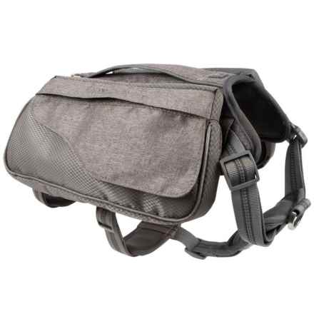 Mission Wild Richmond Harness Dog Pack in Gray - Closeouts