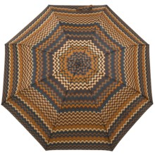 Missoni Tele Crook Umbrella - Automatic (For Women) in Orange Multi - Closeouts