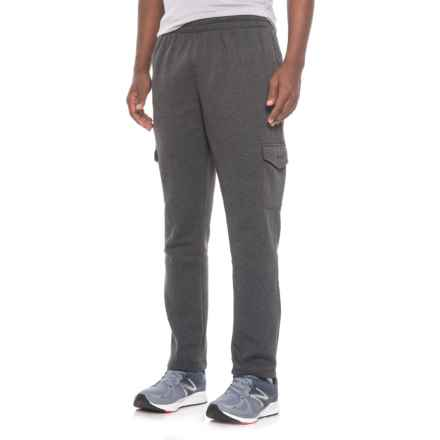 Mitre Fleece Cargo Pants (For Men) in Charcoal Heather - Closeouts