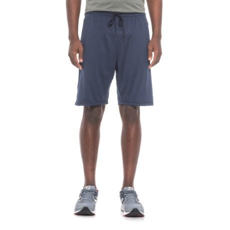 mitre Mini Mesh Shorts (For Men) in Peacoat
